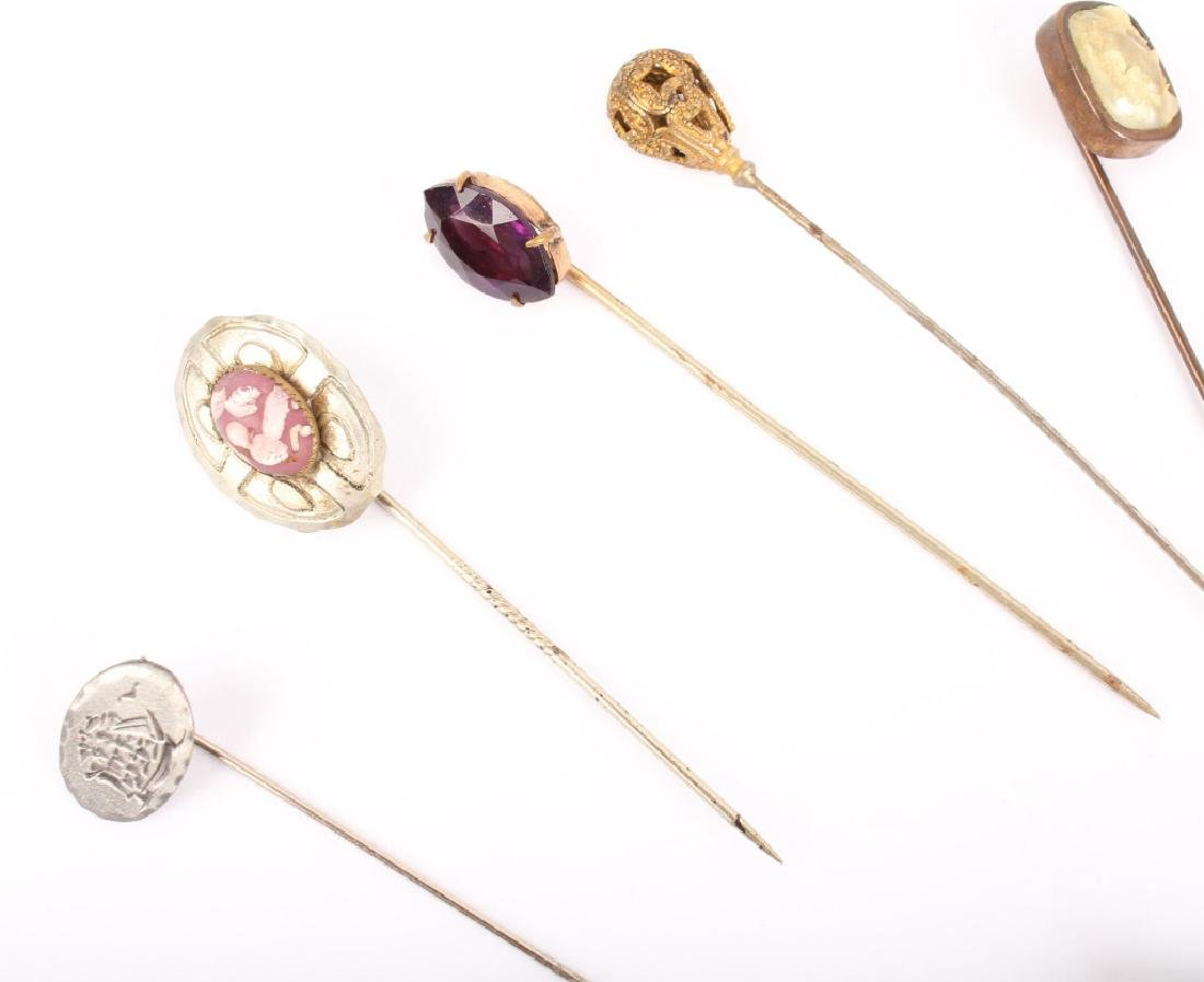 MIXED LOT OF 20TH CENTURY HAT STICK PINS - 2
