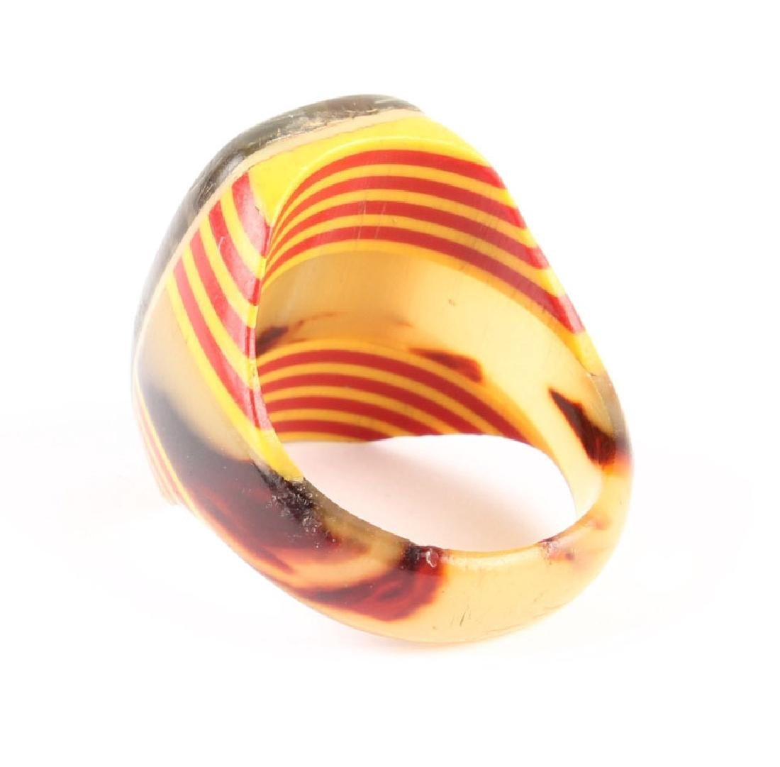VINTAGE CELLULOID RING - 3
