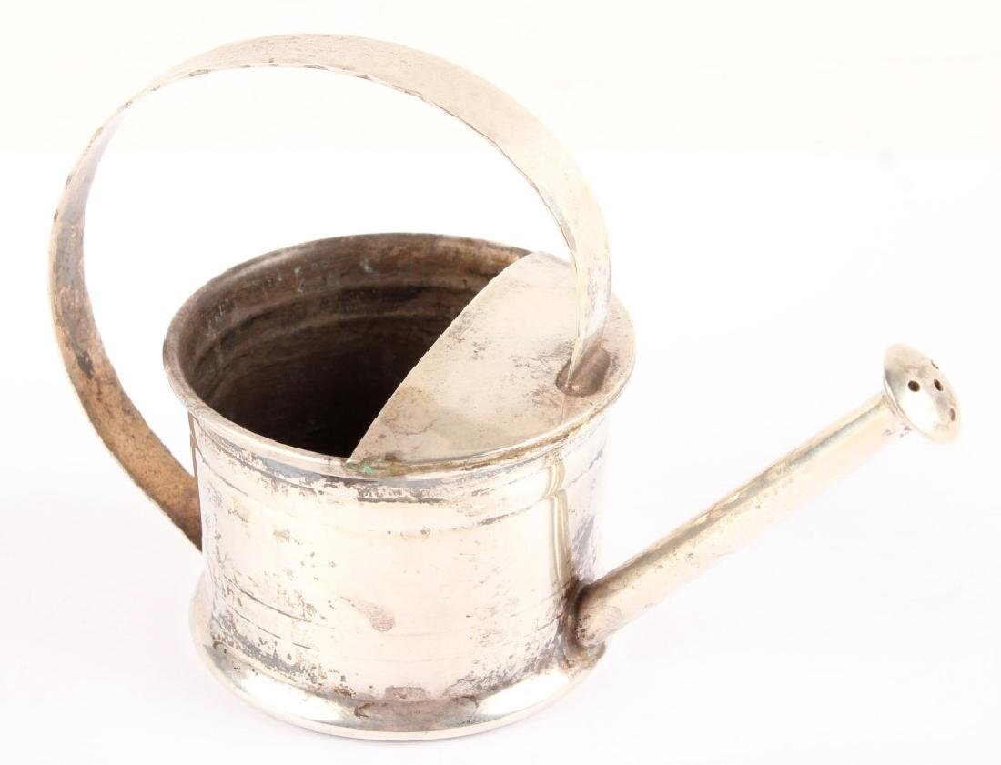 CARTIER STERLING SILVER MINIATURE WATERING CAN