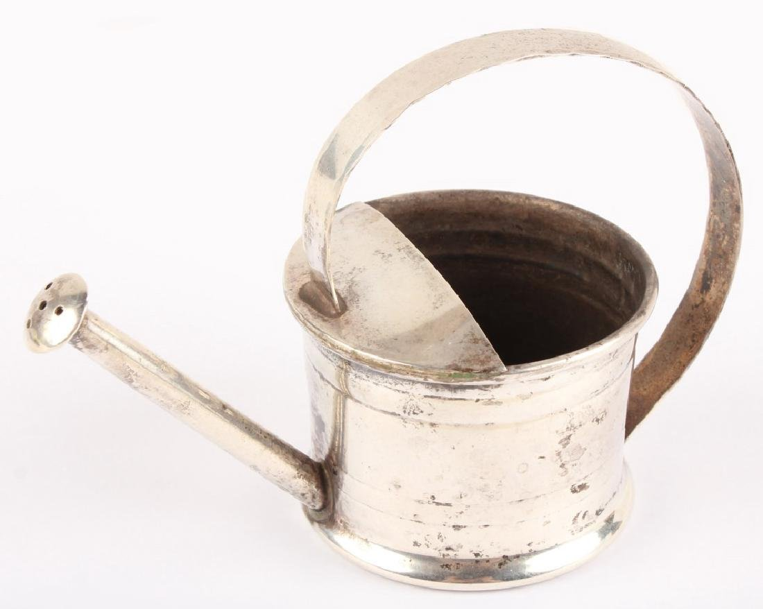 CARTIER STERLING SILVER MINIATURE WATERING CAN - 2