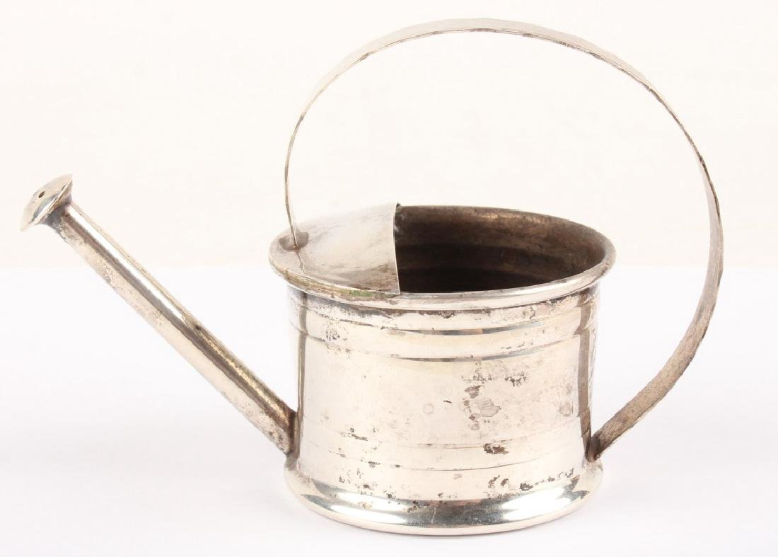 CARTIER STERLING SILVER MINIATURE WATERING CAN - 3
