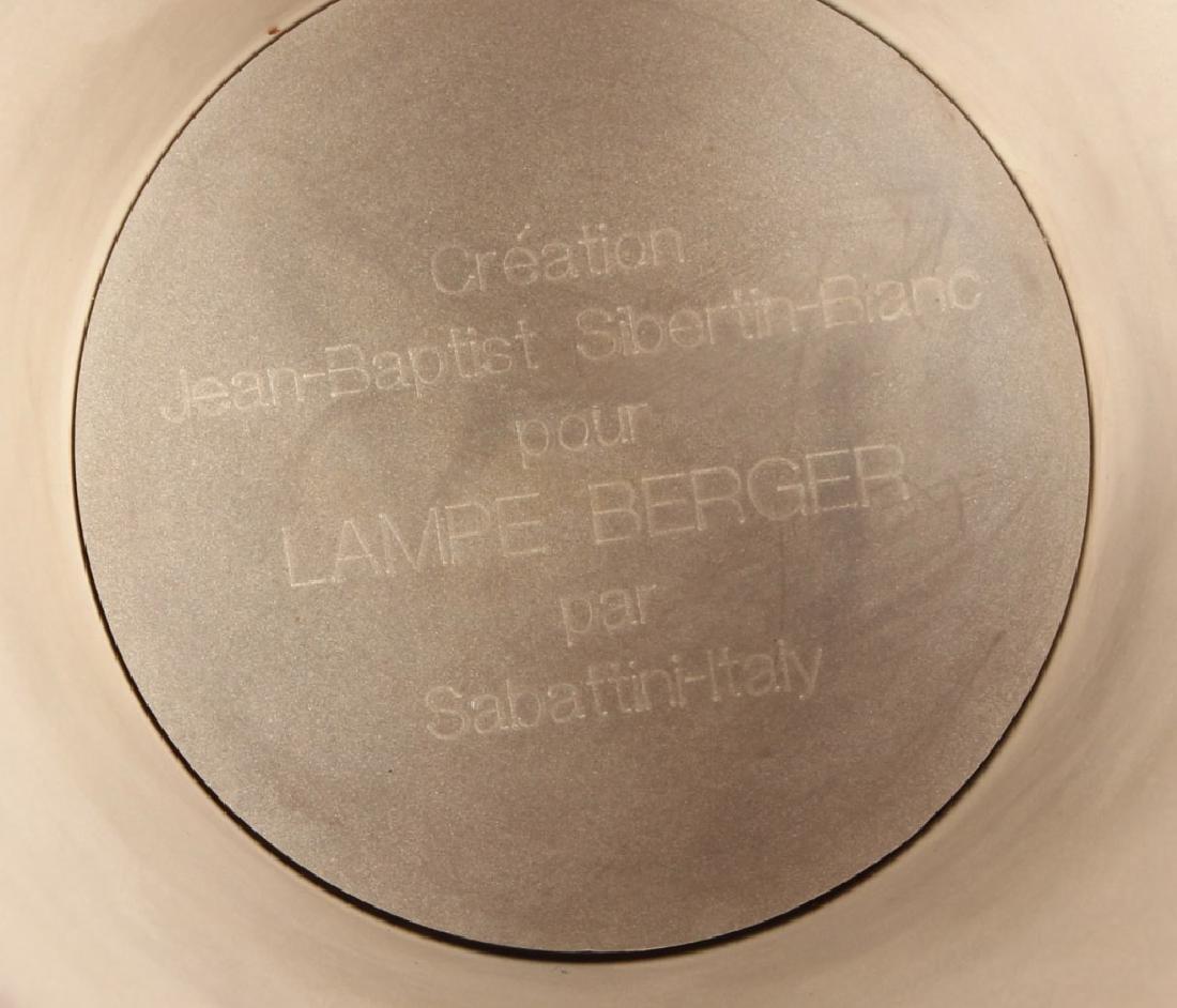 SABATTINI ITALY LAMPE BERGER SILVER PLATED VASE - 5