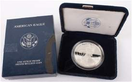 2003 W AMERICAN EAGLE SILVER ONE OUNCE PROOF COIN