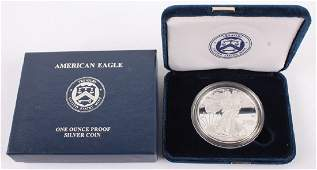 2011 W AMERICAN EAGLE SILVER ONE OUNCE PROOF COIN