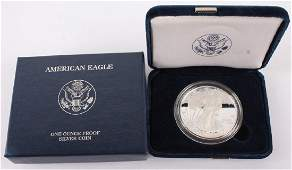 2010 W AMERICAN EAGLE SILVER ONE OUNCE PROOF COIN