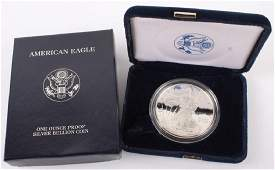 2000 P AMERICAN EAGLE SILVER ONE OUNCE PROOF COIN