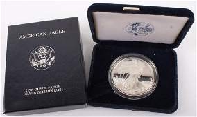 1999 P AMERICAN EAGLE SILVER ONE OUNCE PROOF COIN