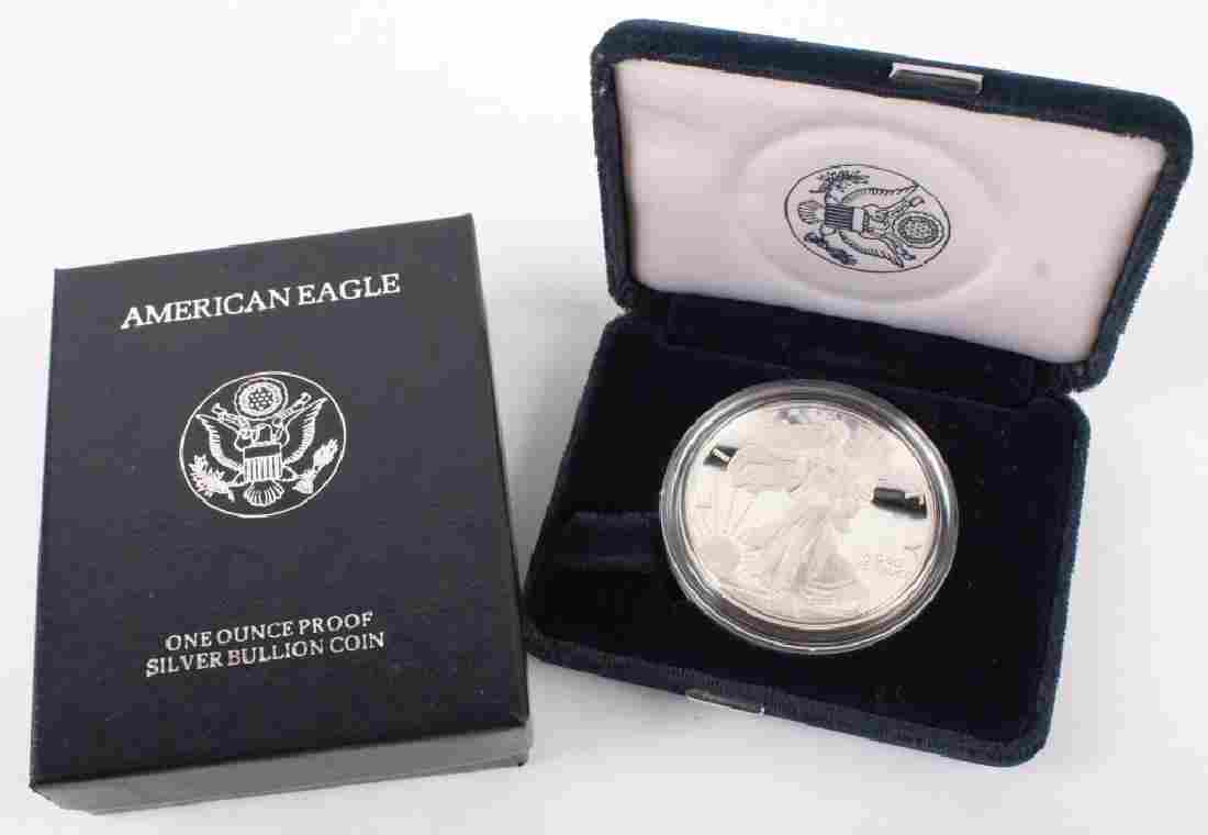 1996 P AMERICAN EAGLE SILVER ONE OUNCE PROOF COIN