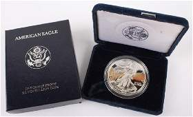 1997 P AMERICAN EAGLE SILVER ONE OUNCE PROOF COIN
