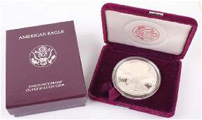 1995 P AMERICAN EAGLE SILVER ONE OUNCE PROOF COIN
