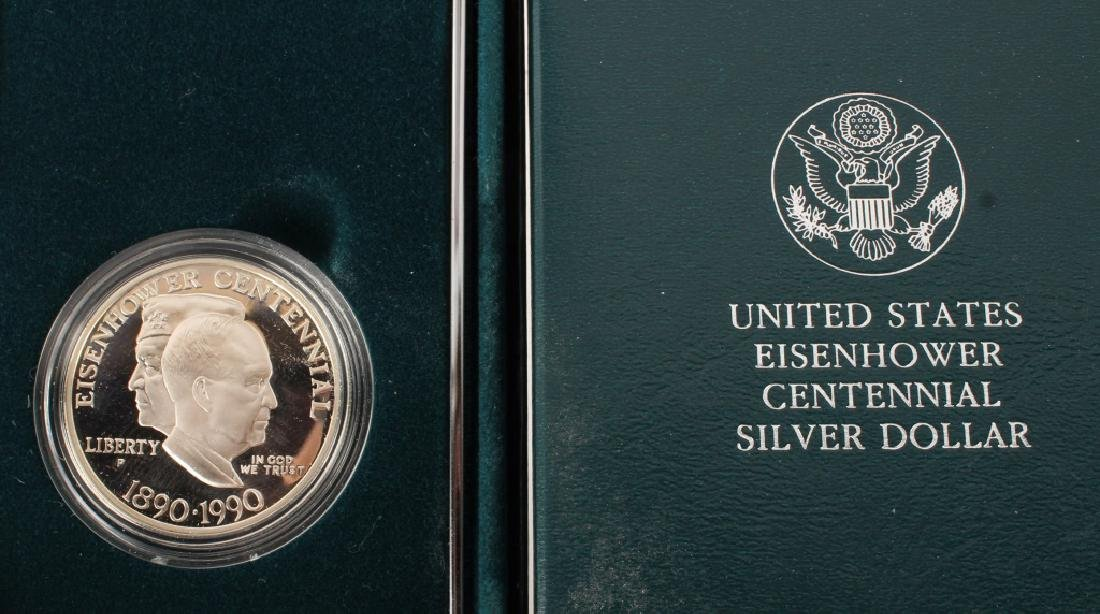 3 MODERN SILVER U.S. COMMEMORATIVES PROOF COINS - 2