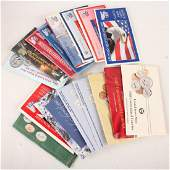 MIXED UNITED STATES SILVER MINT UNC SETS