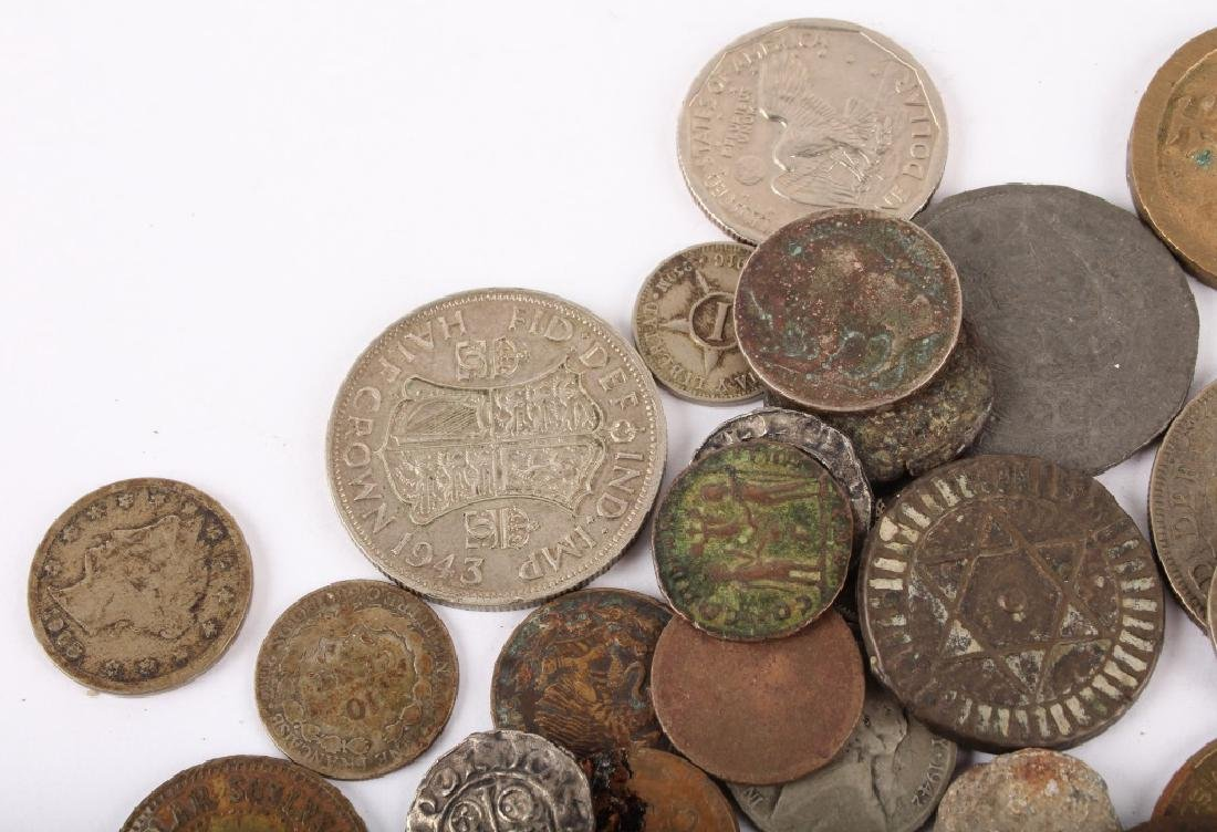 MIXED 19TH & 20TH C. SILVER & COPPER WORLD COINAGE - 2