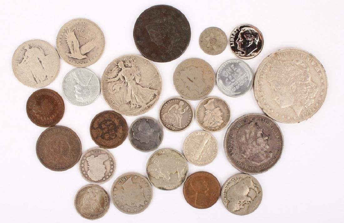 MIXED LOT OF 19TH & 20TH CENTURY U.S. COINAGE