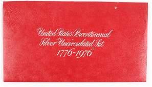 1976 UNITED STATES BICENTENNIAL SILVER UNC SET