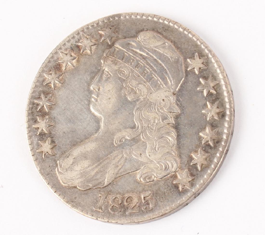 1825 CAPPED BUST HALF DOLLAR HIGH GRADE