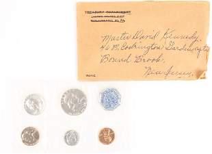 1960 UNITED STATES SILVER US MINT PROOF SET