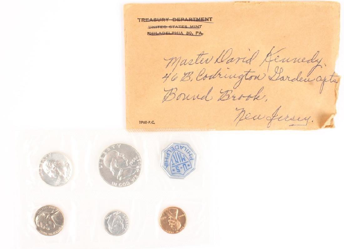 1960 UNITED STATES SILVER U.S. MINT PROOF SET