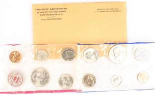 1961 UNITED STATES SILVER UNCIRCULATED MINT SET