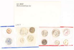 1962 UNITED STATES SILVER UNCIRCULATED MINT SET