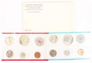 1964 UNITED STATES SILVER UNCIRCULATED MINT SET
