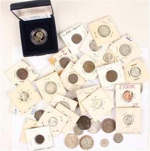LOT OF MIXED UNITED STATES 19TH 20TH C COINS