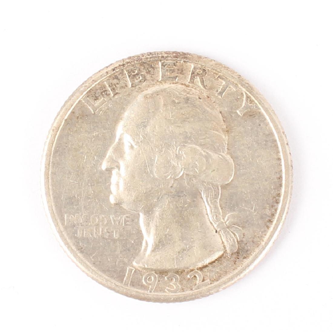 1932 D WASHINGTON SILVER QUARTER DOLLAR KEY DATE