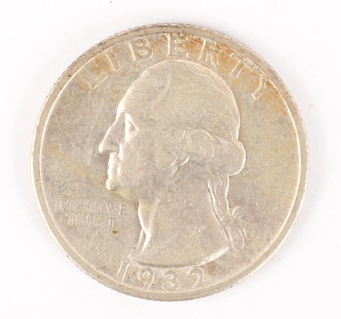 1932 S WASHINGTON SILVER QUARTER DOLLAR KEY DATE