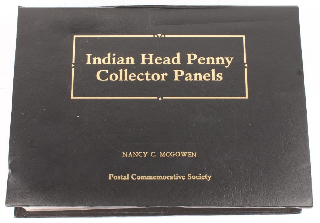 1880-1909 INDIAN HEAD PENNY COLLECTOR STAMP SET