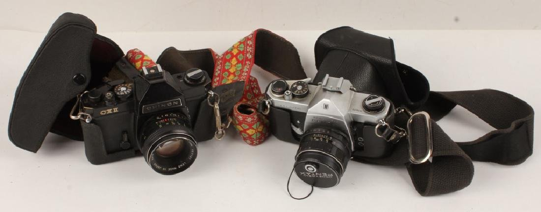 LOT OF 2 CAMERAS PENTAX CHINON