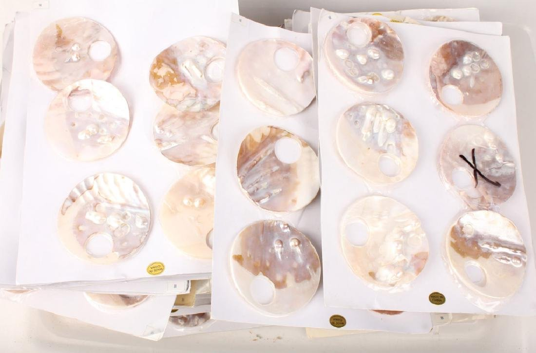 MIXED MOTHER OF PEARL PENDANTS 12 LBS