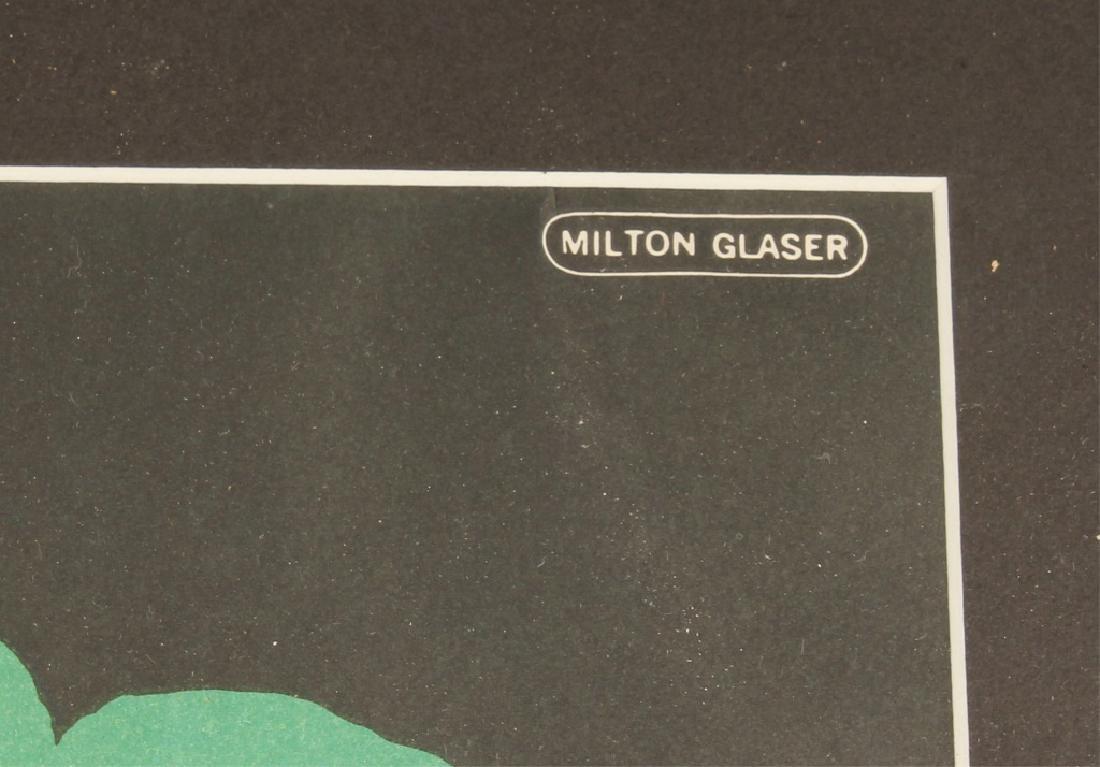 MILTON GLASSER 1966 BOB DYLAN POSTER - 3