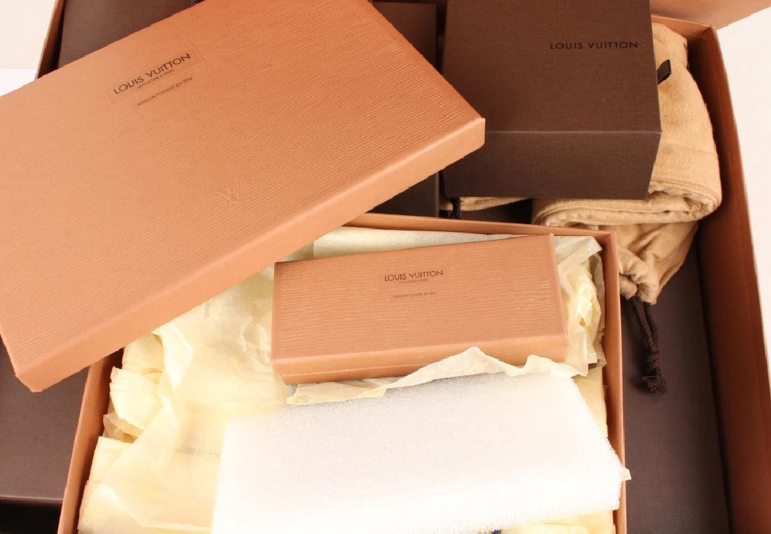 EMPTY LOUIS VUITTON BOXES AND ACCESSORIES - 4
