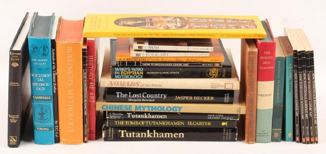 WORLD CULTURE/HISTORY & ART REFERENCE BOOKS
