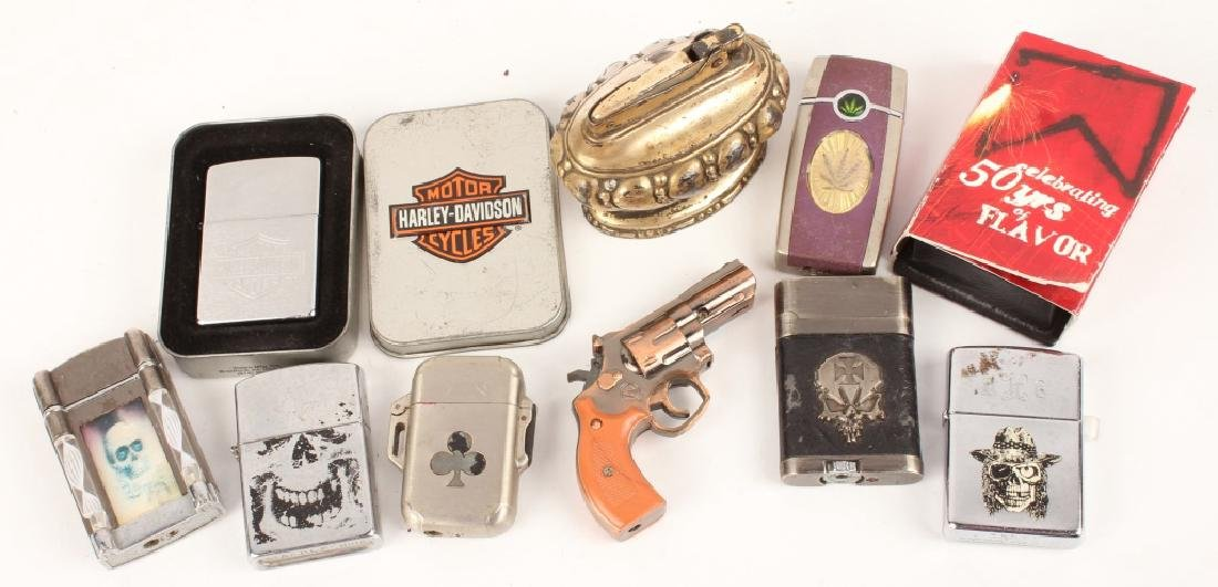 MIXED LOT OF MODERN LIGHTERS