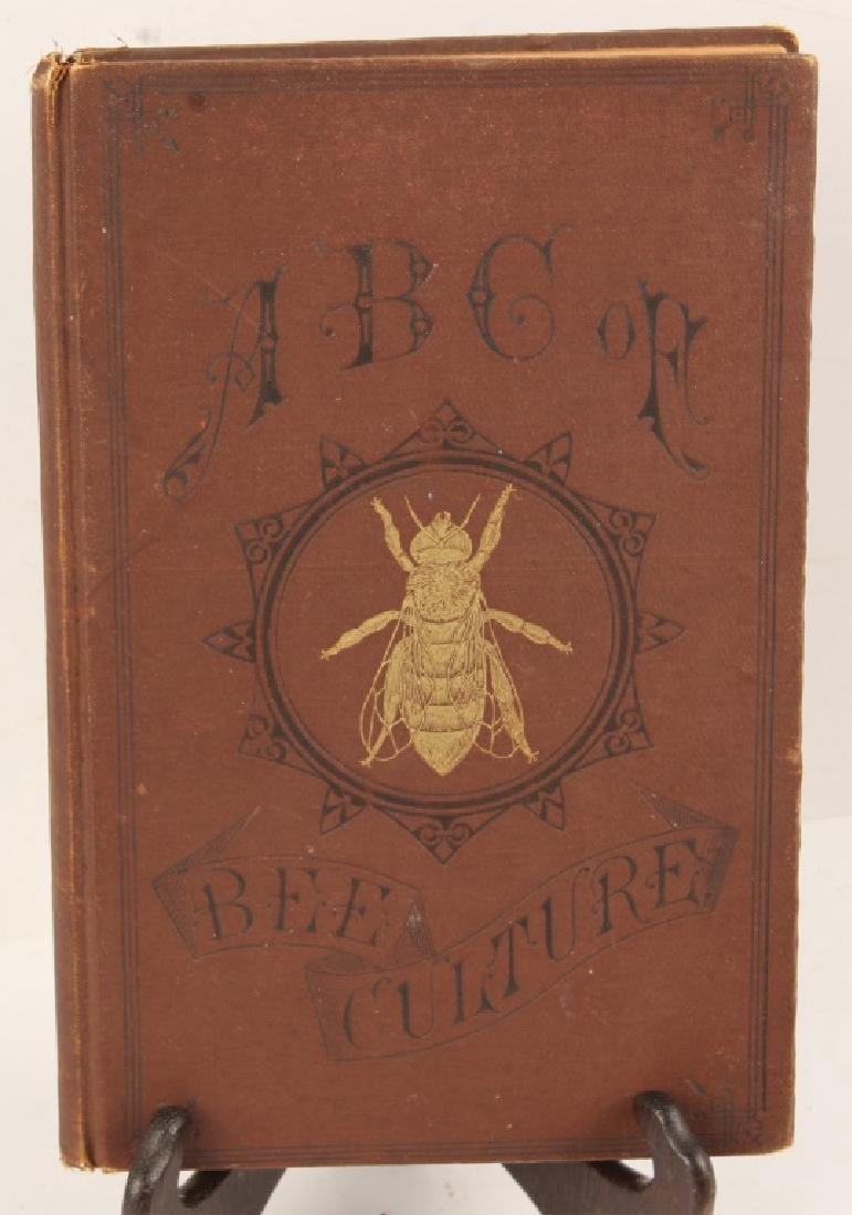 ABC OF BEE CULTURE BY A.I. ROOT 1895 BOOK