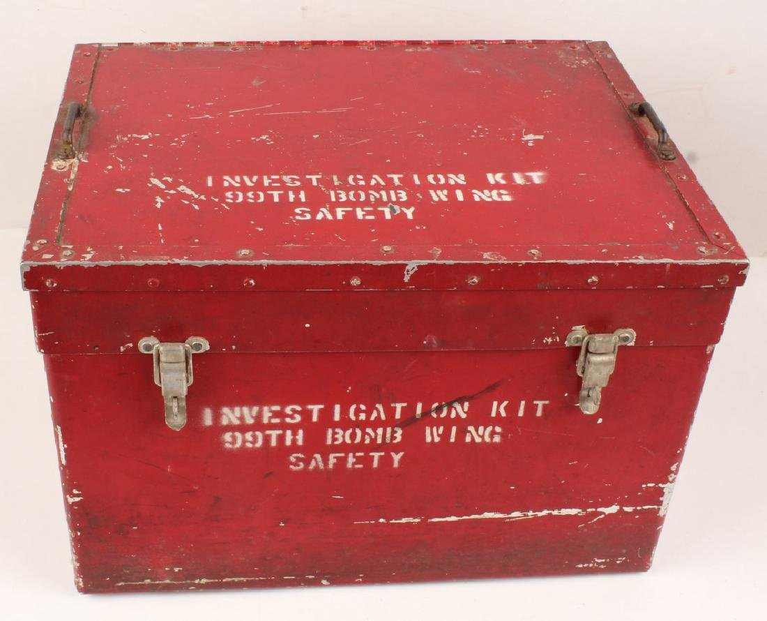 99TH BOMB WING INVESTIGATION KIT BOX