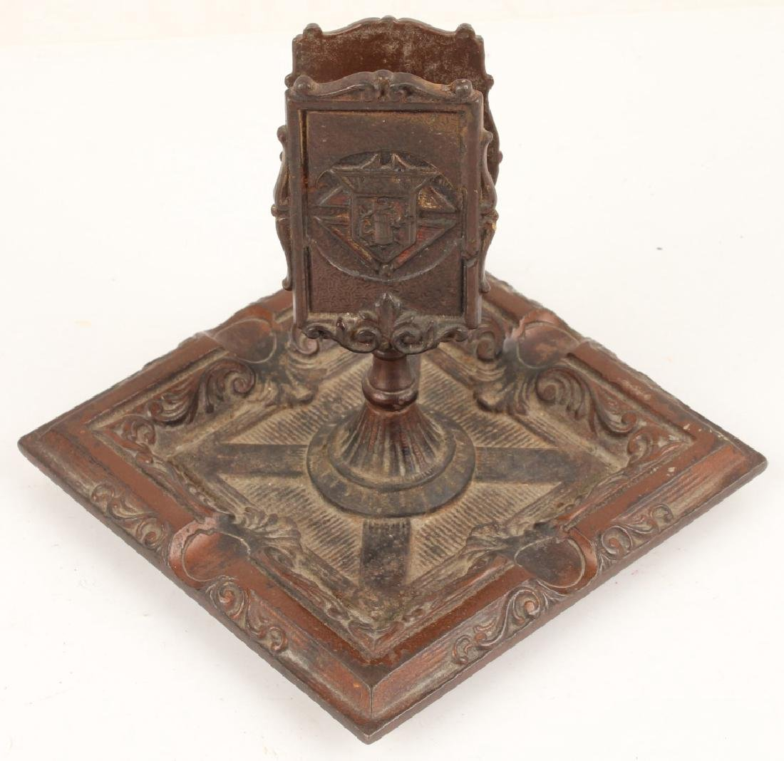 BRONZE KNIGHTS OF COLUMBUS ASH TRAY