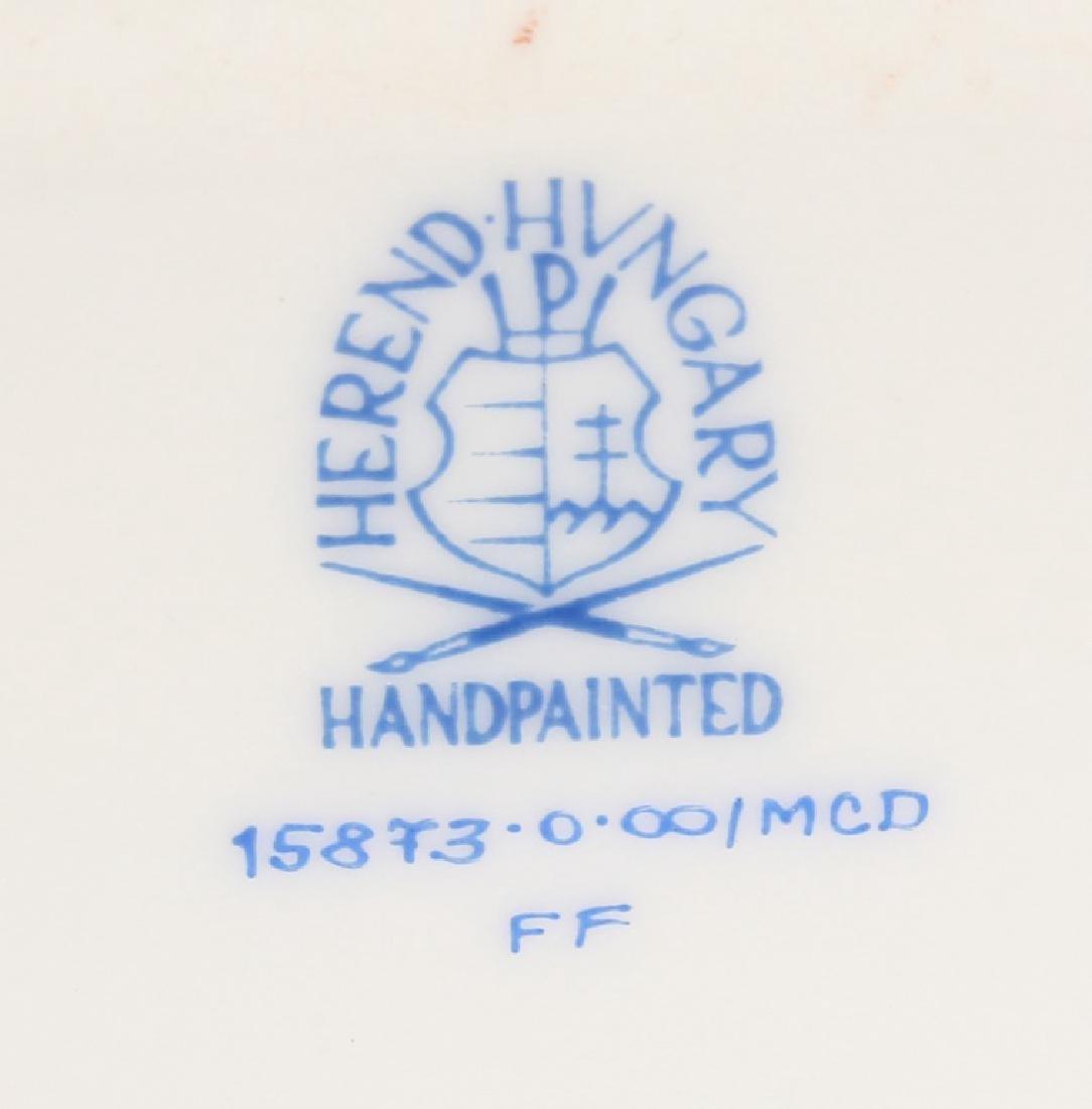 HEREND HUNGARY PORCELAIN YORKIE FIGURINE - 4