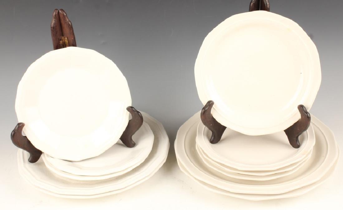 HOMER LAUGHLIN CHOP PLATES & IRREGULAR EDGE PLATES