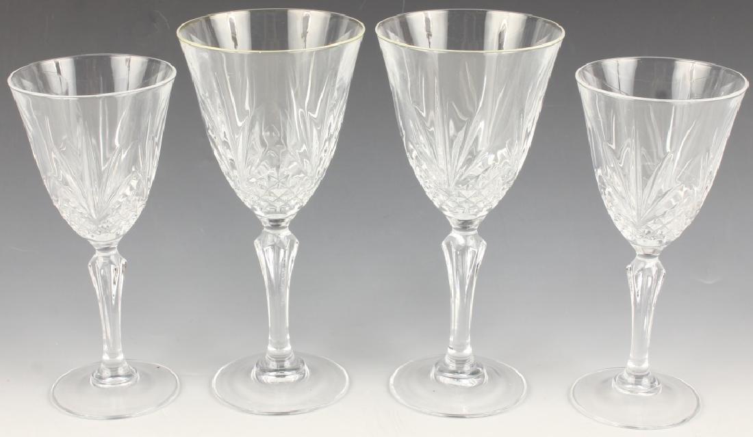 4 MID-20TH CENTURY L.E. SMITH GLASS DRINKWARE