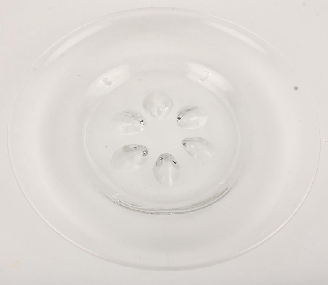 ORREFORS CRYSTAL LARGE DISH
