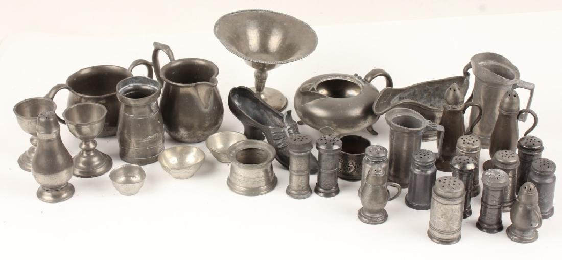32 PEWTER DINING ACCESSORIES