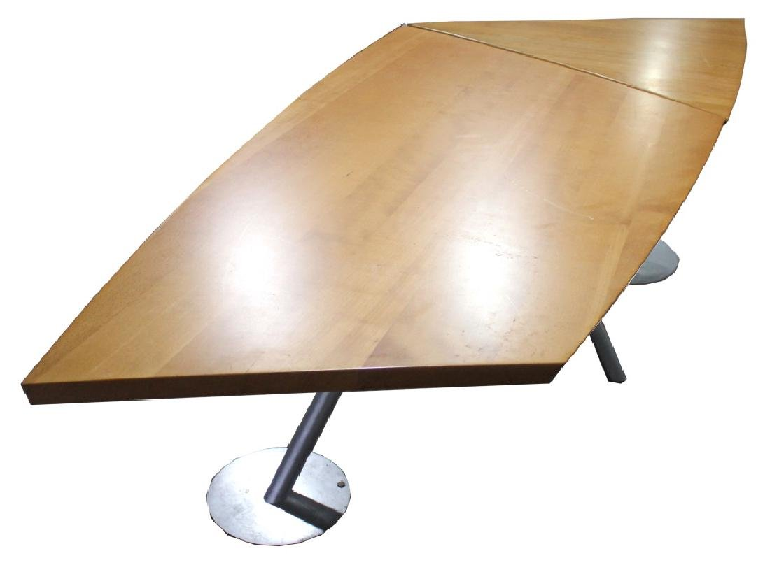 INDUSTRIAL MID-CENTURY MODERN STYLE TABLE