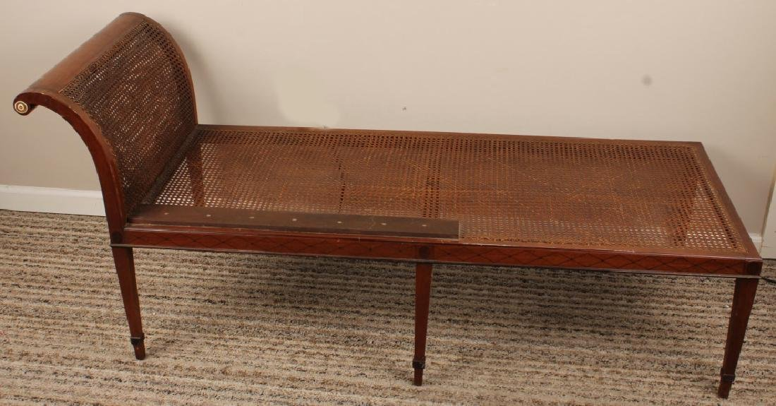 FEDERAL STYLE CHAISE LOUNGE