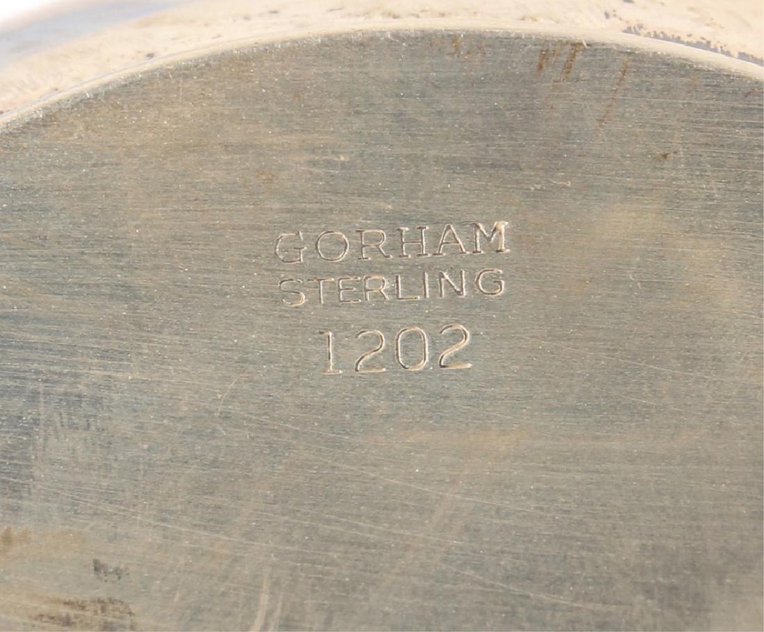 PAIR OF STERLING SILVER GORHAM CREAM & SUGAR DISH - 4