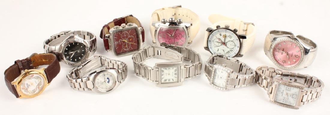 COSTUME WATCHES FOSSIL ROXY SEVILLE INVICTA & MORE
