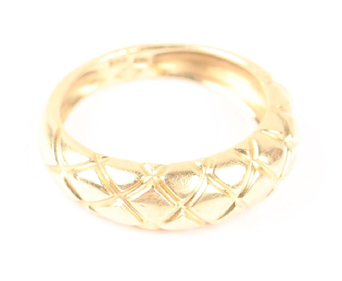 LADIES 14K YELLOW GOLD FASHION RING