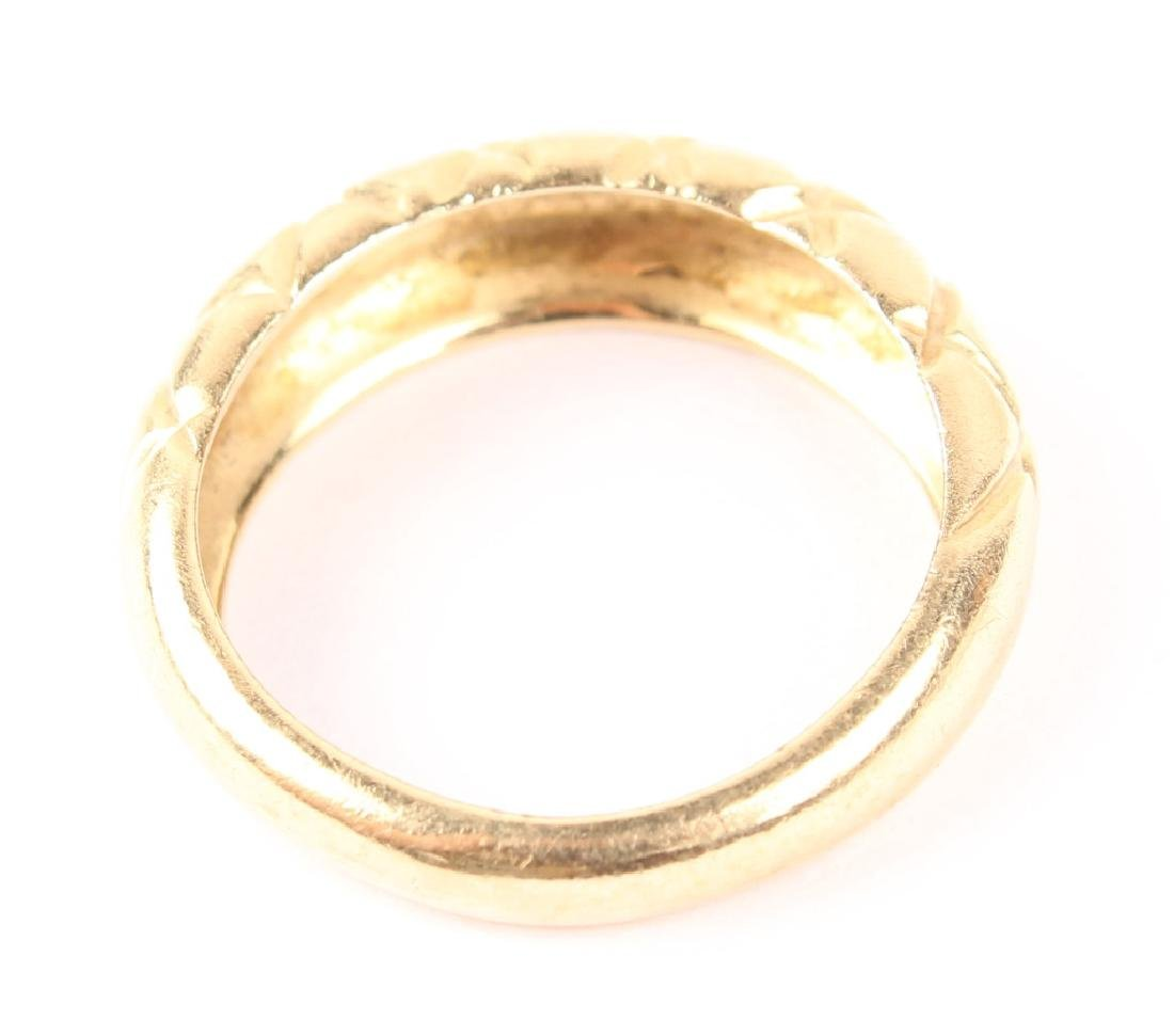 LADIES 14K YELLOW GOLD FASHION RING - 2