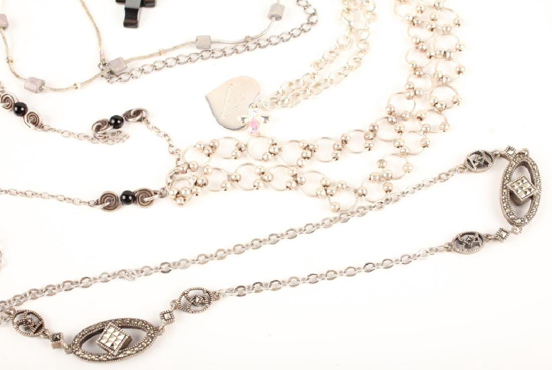 STERLING SILVER NECKLACES - 4